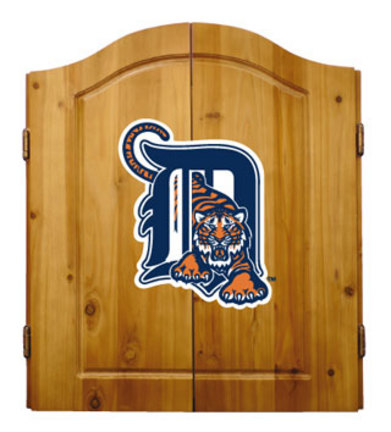 Detroit Tigers MLB Dart Cabinet and Dartboard Set by Imperial International