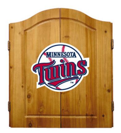 Minnesota Twins MLB Dart Cabinet and Dartboard Set by Imperial International