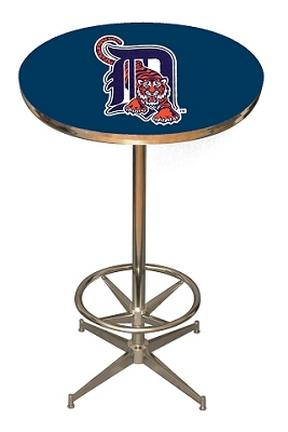 Detroit Tigers MLB Licensed Pub Table from Imperial International