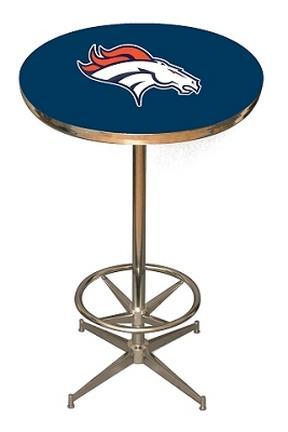 Denver Broncos NFL Licensed Pub Table from Imperial International