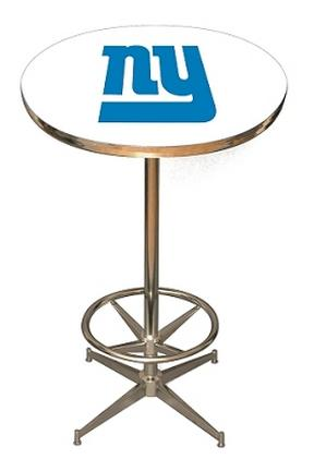 New York Giants NFL Licensed Pub Table from Imperial International