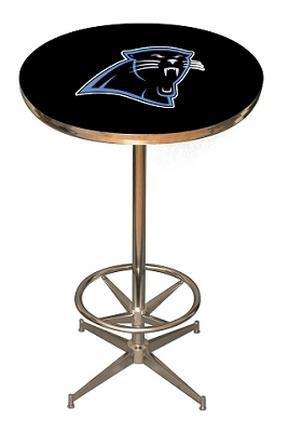 Carolina Panthers NFL Licensed Pub Table from Imperial International