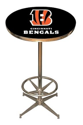 Cincinnati Bengals NFL Licensed Pub Table from Imperial International