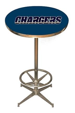 San Diego Chargers NFL Licensed Pub Table from Imperial International