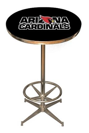 Arizona Cardinals NFL Licensed Pub Table from Imperial International