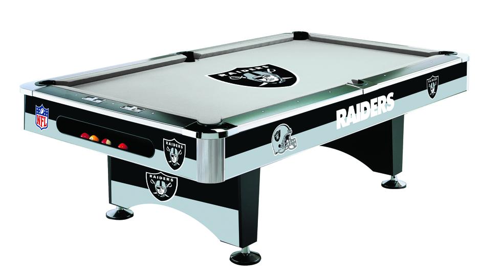 Oakland Raiders Pool Table Raiders Billiards Table