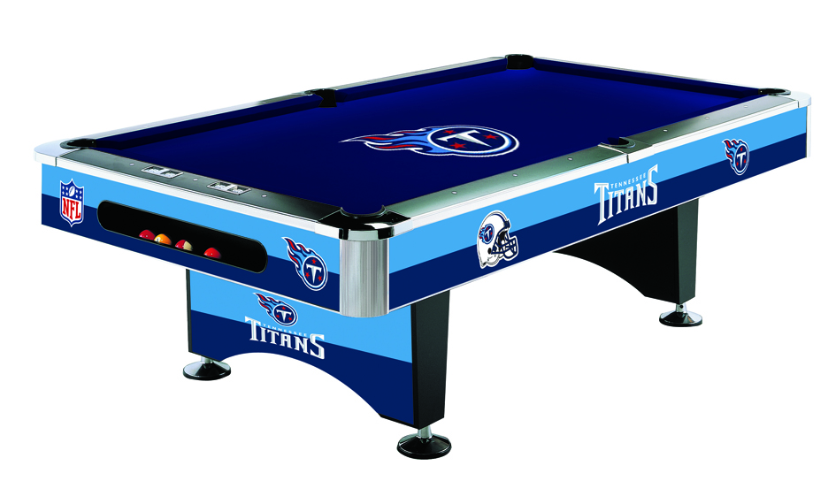 Tennessee titans pool table titans billiards table for Table 52 prices