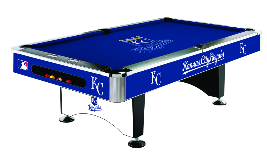 Kansas city royals pool table royals billiards table for Table 52 prices
