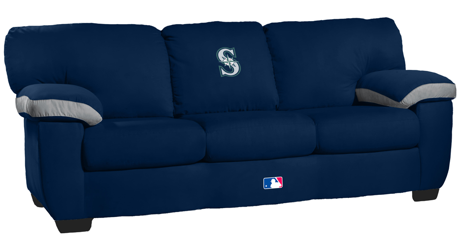 Seattle Mariners Classic Microfiber Sofa Couch From Imperial International