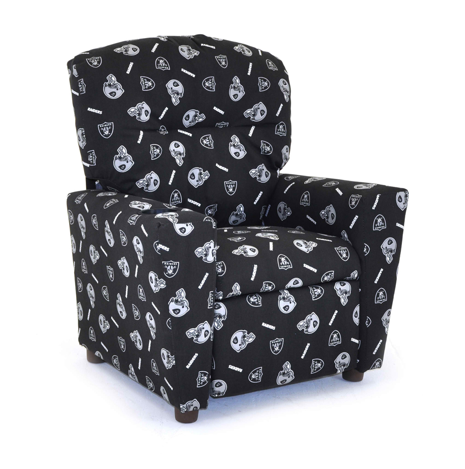 Oakland Raiders Kids Recliner Chair from Imperial International