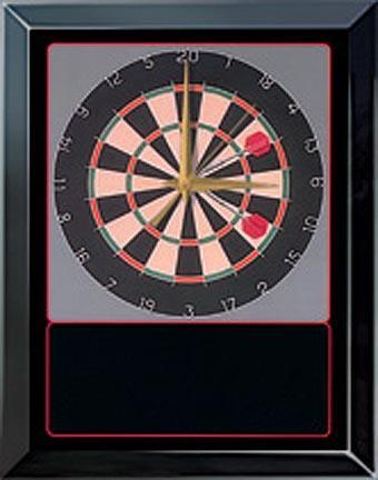 Dartboard Scene Award Series Wall Clock