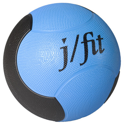 Premium Rubberized Medicine Ball 6 lbs