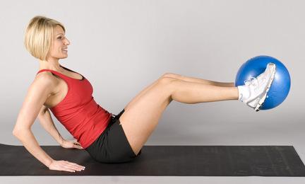 "Mini Exercise Therapy Ball 9"""