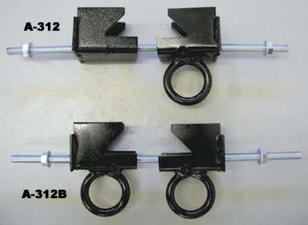 """I-Beam Clamp for Climbing Ropes (Flange width from 3-1/2"""" through 12"""")"""