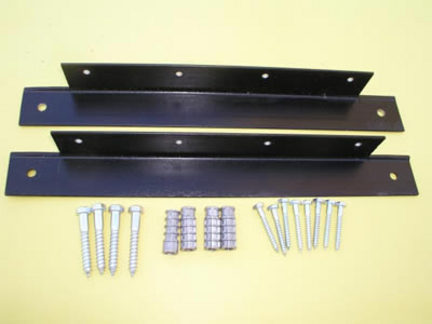 "Mounting Kit for 14"""" x 60"""" Peg Board"" JM-PBMK-1416"