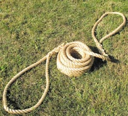 "50' 1"" Diameter Manila Traditional Tug of War Rope"