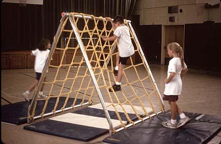 Scaler Climbing Net and Frame
