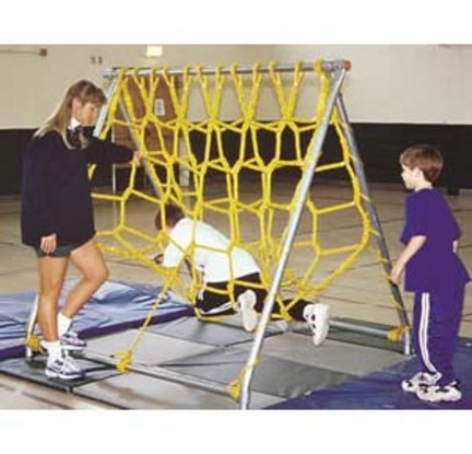 """Tunnel Climbing Net and Frame (9"""" Mesh)"""
