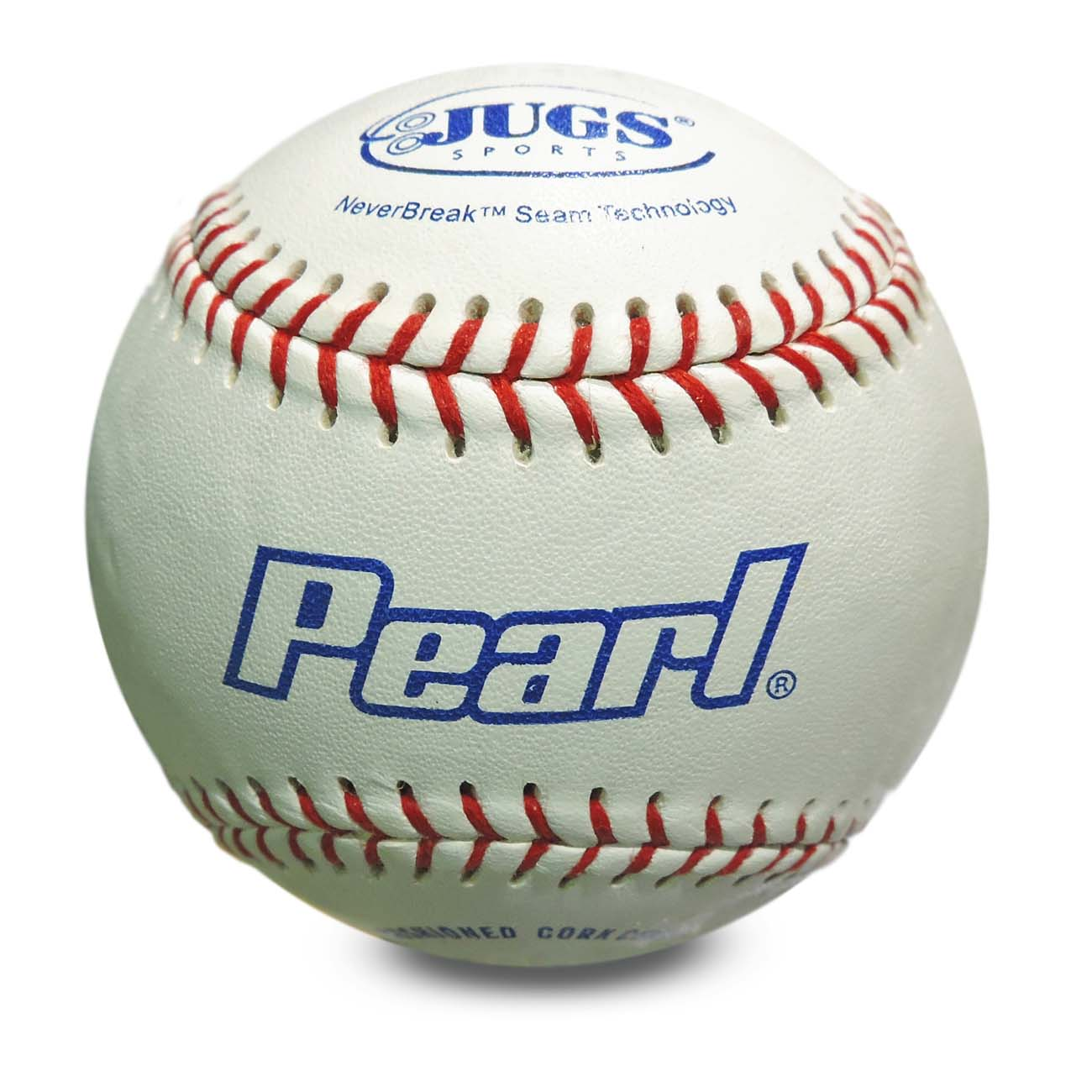 JUGS Pearls® - Leather Baseballs Designed for Pitching Machines  (1 Dozen Baseballs)