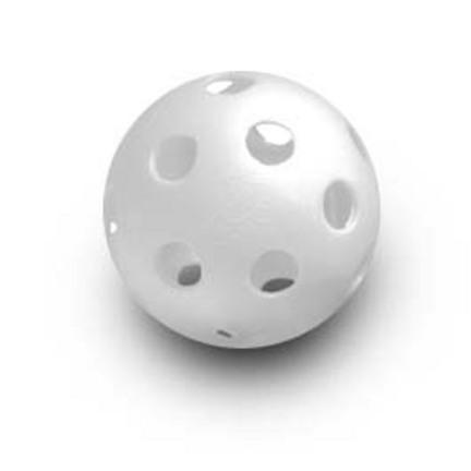 JUGS® Bulldog™ WHITE Polyball Baseballs / Pickleballs (1 Dozen)