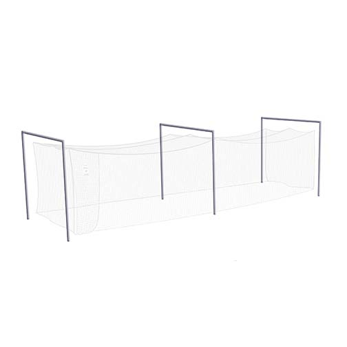 JUGS® Batting Cage Frame For Use with #10 Fastpitch Softball Net (119 lb. or 191 lb. Breaking-Strength Nylon Twine) JU-FR290