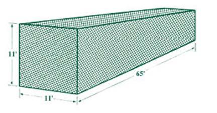 JUGS® #7 Backyard Net™ Batting Cage Net (119 lb. Breaking-Strength Nylon Twine)
