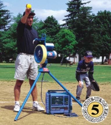 MVP® Baseball Pitching Machine