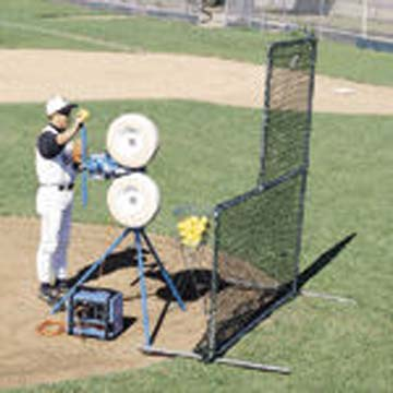 """JUGS L-Shaped Pitchers """"Quick-Snap"""" Protective Screen - 6 1/2' Tall"""