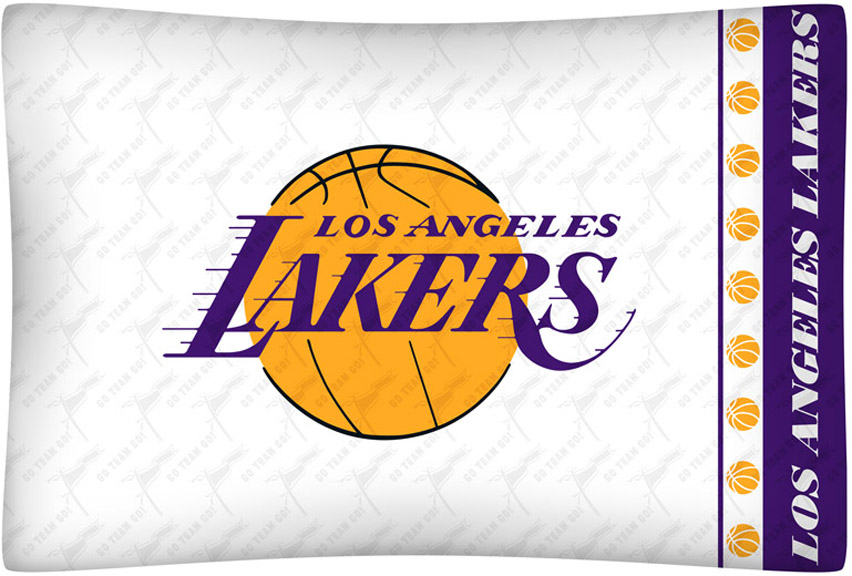 Los Angeles Lakers Micro Fiber Standard Pillow Case from Ken