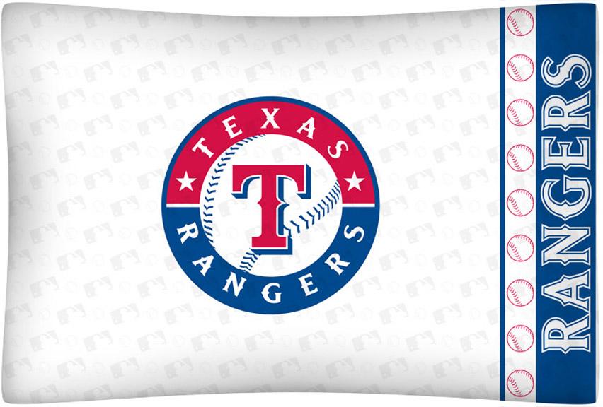 Texas Rangers Micro Fiber Standard Pillow Case from Kentex
