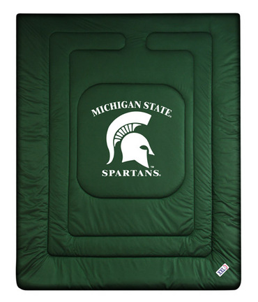 "Michigan State Spartans Jersey Mesh Twin Comforter from ""The Locker Room Collection"" by Kentex"