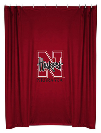 Nebraska Cornhuskers Shower Curtain by Kentex