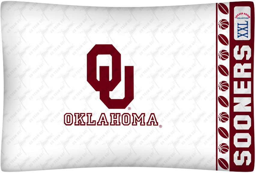 Ou Sooners King Size Bedding