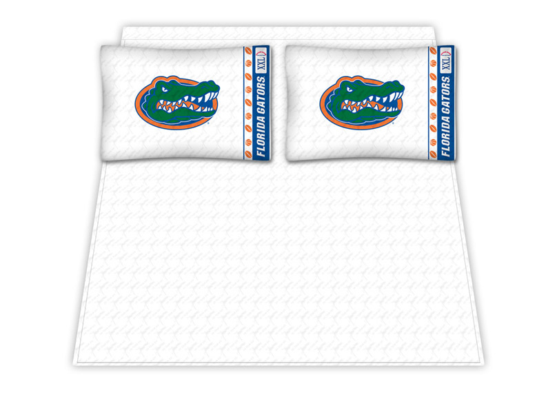 Florida Gators Micro Fiber Full Sheet Set by Kentex KEN-04MFSHS4FLUFULL