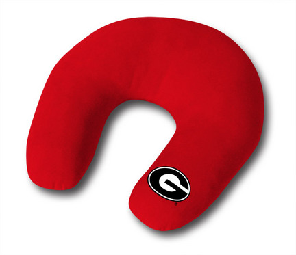 """Georgia Bulldogs 14"""" x 14"""" Neck Roll Pillow from """"The MVP Collection"""" by Kentex"""