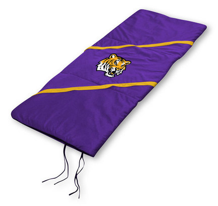 """Louisiana State (LSU) Tigers Sleeping Bag from """"The MVP Collection"""" by Kentex"""
