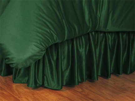 "Boston Celtics Coordinating Full Bedskirt for ""The Sidelines Collection"" by Kentex"