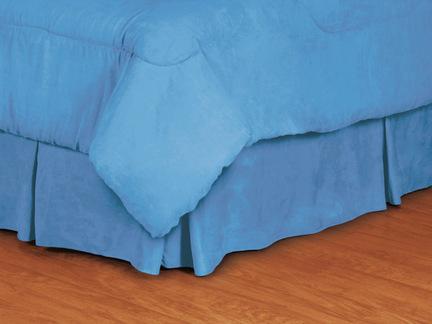 "North Carolina Tar Heels Coordinating Twin Bedskirt for ""The MVP Collection"" by Kentex"