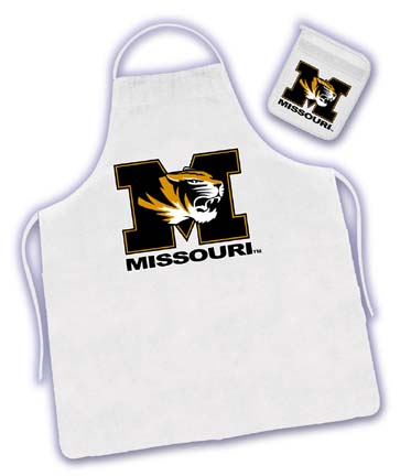 Missouri Tigers Tailgater Apron / Mitt Set by Kentex