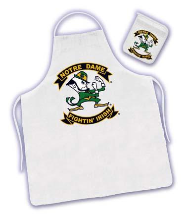 Notre Dame Fighting Irish Tailgater Apron / Mitt Set by Kentex