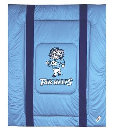 North Carolina Tar Heels Jersey Mesh Full / Queen Comforter from 'The Sidelines Collection' by Kentex
