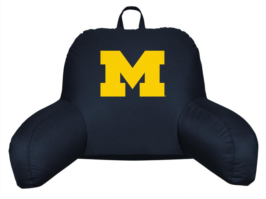 Michigan Wolverines Coordinating NCAA Bedrest Pillow from Kentex