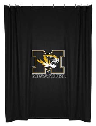 Missouri Tigers Shower Curtain by Kentex