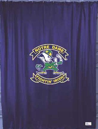 Notre Dame Fighting Irish Shower Curtain By Kentex