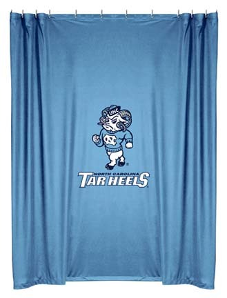 North Carolina Tar Heels Shower Curtain by Kentex