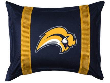 Buffalo Sabres Coordinating Pillow Sham from 'The Sidelines Collection' by Kentex