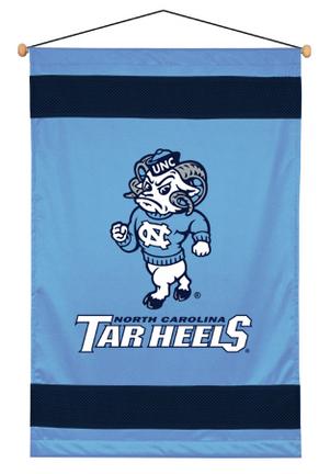 """North Carolina Tar Heels 29.5"""""""" x 45"""""""" Coordinating NCAA """"""""Sidelines Collection"""""""" Wall Hanging from Kentex"""" KEN-04JSWHG4NCU2845"""
