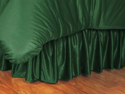 Miami Hurricanes Coordinating Full Bedskirt for the Locker Room or Sidelines Collection by Kentex
