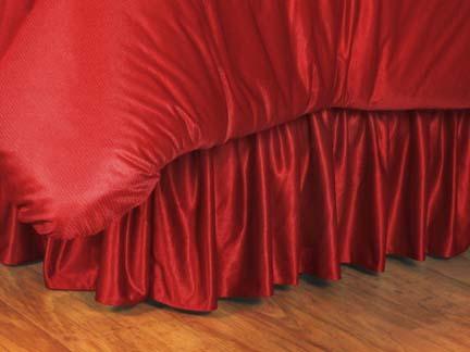 Nebraska Cornhuskers Coordinating Queen Bedskirt for the Locker Room or Sidelines Collection by Kentex