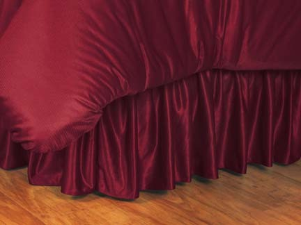 Oklahoma Sooners Coordinating Full Bedskirt for the Locker Room or Sidelines Collection by Kentex